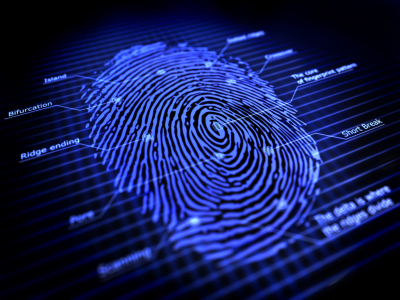 fingerprint to ID people